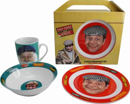 ONLY FOOLS AND HORSES DEL BOY DRESSING GOWN - The Goblin & The Sausage