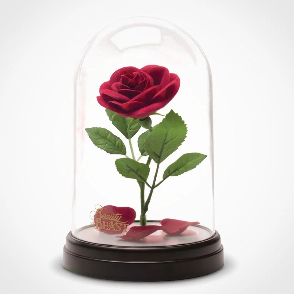 Beauty and the Beast Enchanted Rose Light | TV and film Stuff