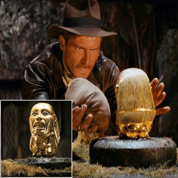 Film props Indiana Jones Fertility Idol Statue