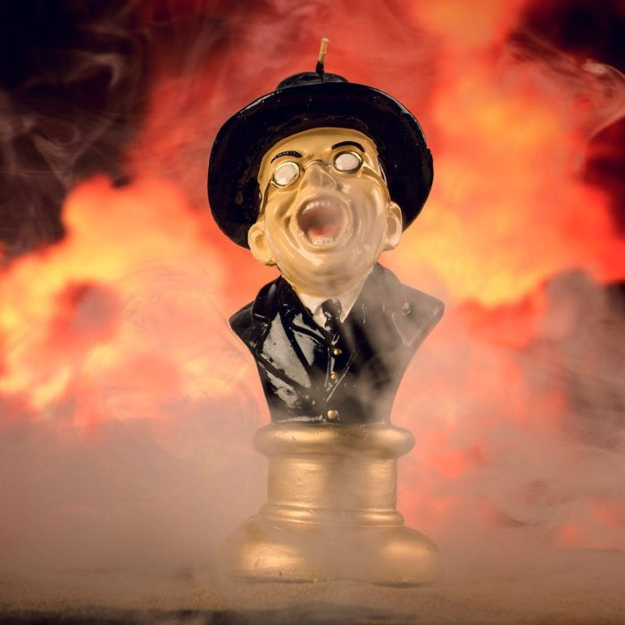Melting Toht Face Candle - Indiana Jones Gifts