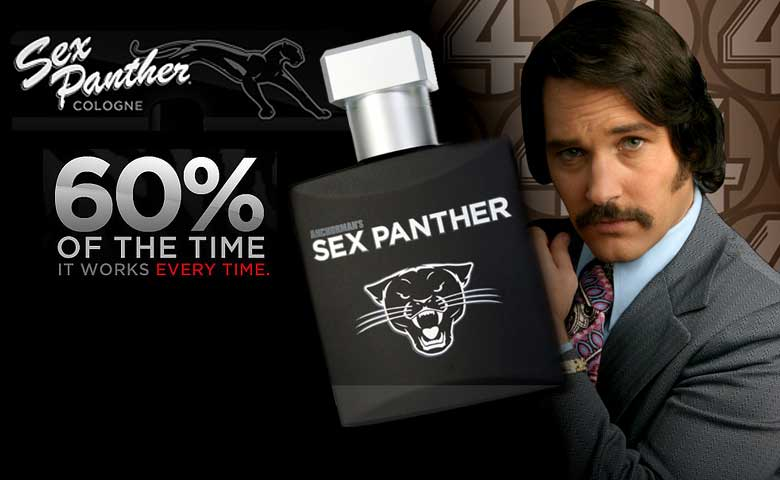Anchorman Sex Panther Cologne | TV and Film Stuff