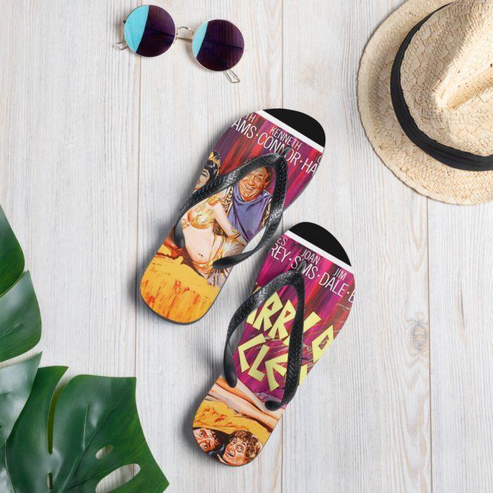 carry on cleo flip flops