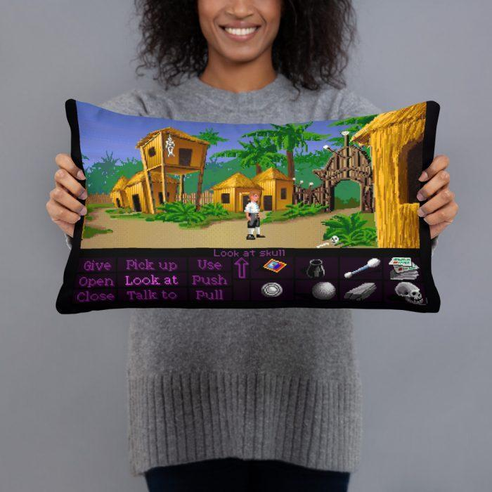 monkey island pillow