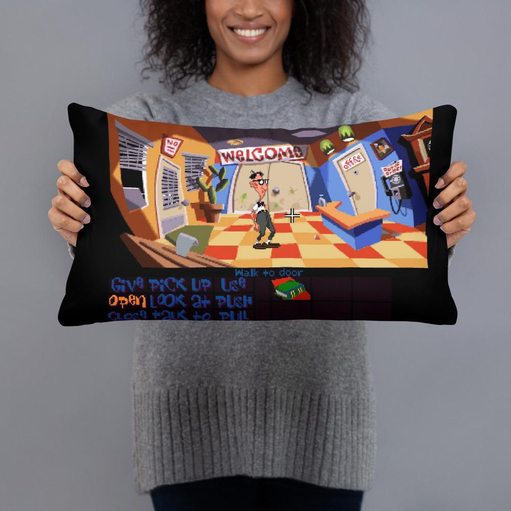 Point and click adventure pillows