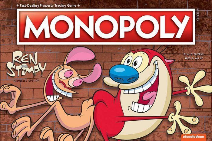 Ren and Stimpy monopoly