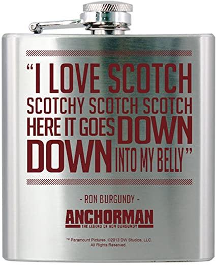 Anchorman Hip Flask | Anchorman Gifts